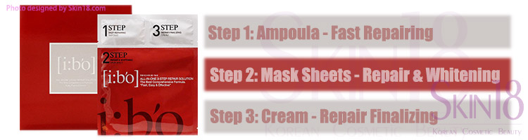 i:bo 3 steps all-in-one 3 steps repair solution