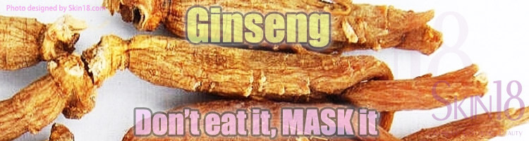 Interesting Ingredient: Gingseng