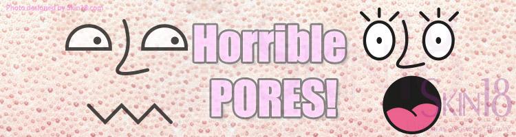 Pores on mynose