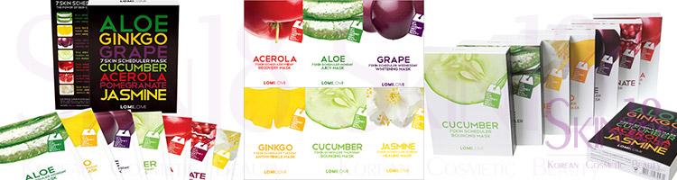 7 Fruity Masks from Monday toSunday