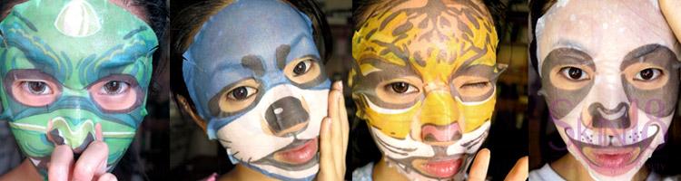 My Gosh – Character Facial SheetMasks!!!