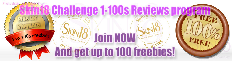 Join Skin18 Challenge 1-100s Reviews Program