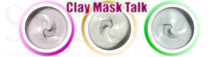 Clay – A type of Wash Off Masks – let's Rinse it off.